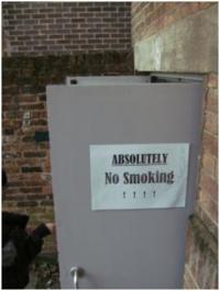 禁煙?イギリスはどこでも屋内全面禁煙なんだけど